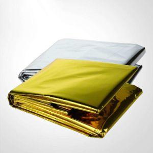 2015 Keep Warm Heat Back First Aid Thermal Travel Emergency Blanket Space Brand Emergency Blanket Thermal Emergency Blanket Silv pictures & photos