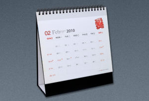 Offset Printing Customized Desk Calendar Printing, Printing Service pictures & photos