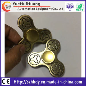2017 New EDC Tri-Spinner Fidget Toys Pattern Hand Spinner with High Speed pictures & photos