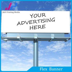 440GSM Glossy Blackout Flex Banner (Black Back) pictures & photos