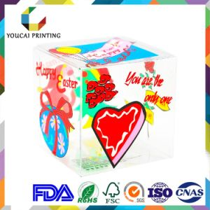 Printed PVC Pet Clear Hanger Packaging Box pictures & photos