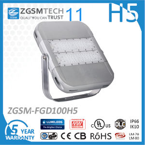 IP66 SMD 3030 Dimmable LED Flood Light 100W pictures & photos