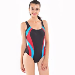 New Sexy Women Competition One Piece Swimsuits Sport Swimwear Professional Swimsuit Bathing Suit pictures & photos