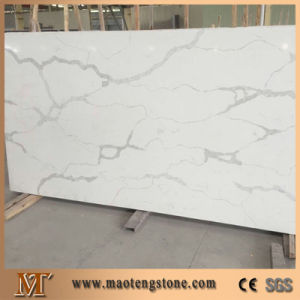 Popular Manufacturer Calacata White Artificial Quartz Stone pictures & photos