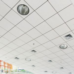 2017 High Quality Fireproof 600*600 mm Clip in Aluminum Ceiling pictures & photos