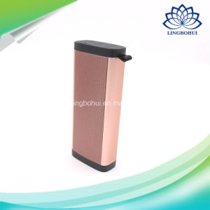 Portable Outdoor Mobile Amplifier Aluminum Shell Digital Sound Box Professional Mini Bluetooth Speaker with Hook pictures & photos