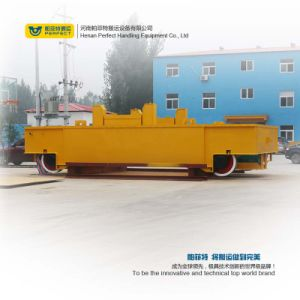 200t Cable Drum Ladle Transfer Vehicle Moving on Rail pictures & photos