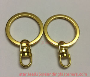 Brass Plating Key Rings O Rings pictures & photos
