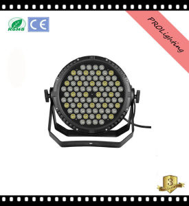 IP65 Waterproof High Brighness LED PAR Can Lights Outdoor Stage Lighting 84 * 3W Rgbwy 5-in-1 pictures & photos