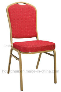 Modern Stackable Metal Wedding Party Hotel Banquet Iron Chair pictures & photos