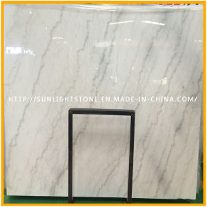 Top Polished Building Material Cheapest Guangxi White Marble Slabs, China White Marble pictures & photos