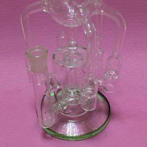 Popular Glass Recycler Glass Water Smoking Pipe Wonder Brand pictures & photos