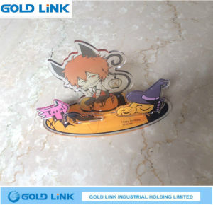 Promotion Key Holder Cute Animation Key Chain Acrylic Key Ring pictures & photos