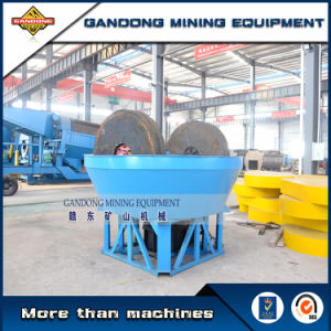 High Quality Rock Grinding Mill Wet Pan Mill for Sale pictures & photos