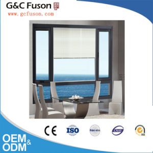Residential and Commercial Used Non-Thermal Break Fixed Aluminum Louvered Window pictures & photos