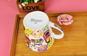 Ceramic Cheap Bulk Original Design Colored Tea Cups, Black Cheap Tea Cups pictures & photos