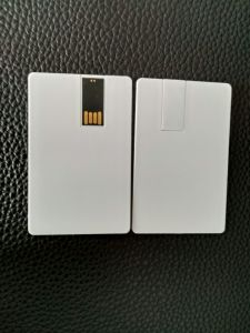 Cheapest Blank Plain Credit Card USB Flash Drive 128MB 256MB 1GB 2GB 4GB pictures & photos
