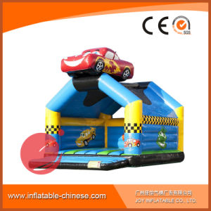 Inflatable Trampoline Jumping Castle Cow Bouncer for Amusement Park (T1-022) pictures & photos