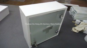 Hight Quality White Metal Medical Cabinet, Medicine Cabinet with Power Coated pictures & photos