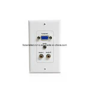 RCA VGA Wall Plate for Audio/Video pictures & photos
