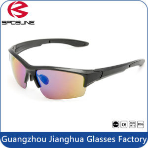 New Outdoor Sports Sun Glasses 1.1mm PC Lenses Sunglasses UV400 Sport Bike Goggles pictures & photos