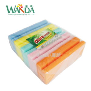 Hand Hold Cleaning Sponge Washing Sponge Scourer for Kitchen Cleaning pictures & photos