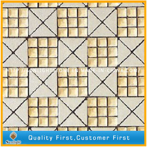 Natural White Marble Stone Art Mosaic for Wall Background Decorative pictures & photos