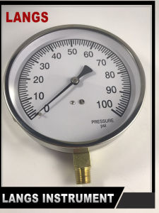 074 115mm Project Pressure Gauge pictures & photos