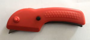 Heavy Duty Utility Knife Zinc-Alloy Material Plastic Handle Material pictures & photos