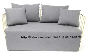 Modern Replica Leisure Coffee Steel Sofa Wire Chair pictures & photos