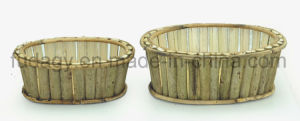Natural Oval Garden Planter Without Handle pictures & photos