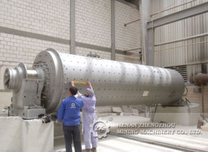 Wet Continuous Type Ball Mill pictures & photos