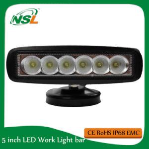 LED Work Light Work Lamp Spot Flood Beam 18W 6pccs * 3W Epistar Auto Accessories pictures & photos