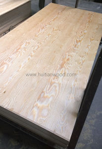 Mongolian Scotch Pine Veneered Plywood pictures & photos