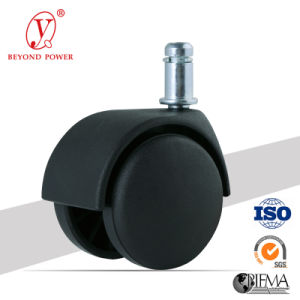 50mm Nylon Rubber Office Chair Castor Furniture Swivel Caster Wheel Cabinet Caster pictures & photos
