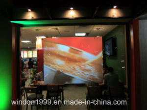 92% Transmittance 3D Holographic Rear Projection Film Holo Window Film pictures & photos