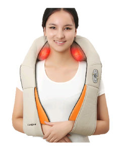 Shoulder Body Massager Shape Electrical Heated Kneading pictures & photos