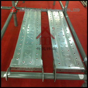 Q235 Construction Steel Scaffolding Plank pictures & photos
