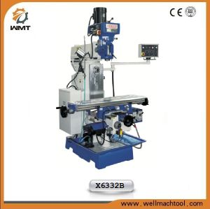 Universal Swivel Head Milling Machine X6332b with Rectangular Guide pictures & photos