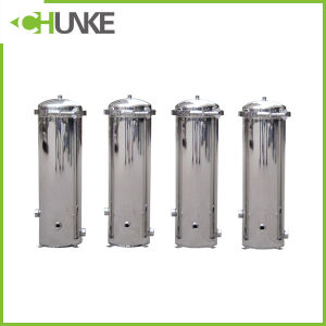 "PVC / Ss 20"" PP Cartridge Water Filter Housing Equipment pictures & photos"