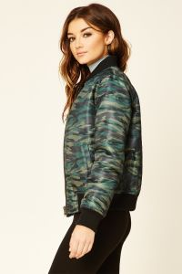 Casual Camo Pilot Baseball Jacket pictures & photos