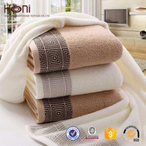 100% Cotton Satin Towel Sets Soft Towel Hotel Towel Cotton Towel pictures & photos