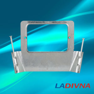 Australian Standard Electrical Bracket Vertical Mounting with Nails (Metal Bracket) pictures & photos