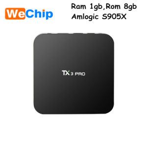Tx3 PRO 1GB 8GB Android 6.0 Kodi 16.1 TV Box pictures & photos