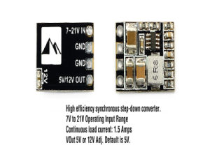 Matek Micro Bec Step-Down Module 5/12 V Output 2-5s Lipo Battery for Fpv 250 Quadcopter pictures & photos