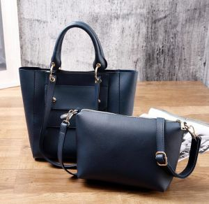 2017 New Multi-Poket Hand Bag Single Color Leisure Ladies Bag Set Hcy-5027 pictures & photos