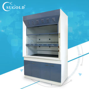Y6 Blue Color Full Steel Outer Plug Fume Hoods with Cabinets pictures & photos