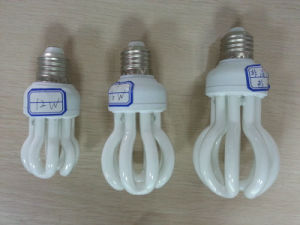 Energy Saving Lamp 65W Lotus Halogen/Mixed/Tri-Color Special Tube Compact Light Bulb pictures & photos