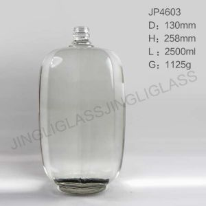 China Hot Sales 2500ml Big Body and Large Volume Wine Glass Bottle pictures & photos