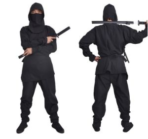 Wholesale Adults Ninja Costume for Hallowmas Party pictures & photos